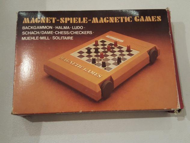Magnetic Games - gioco vintage da viaggio