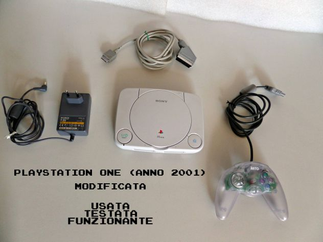 Playstation One SCPH-102 (anno 2000 circa) MOD.