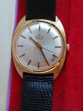Splendido orologio in oro vintage anni 60