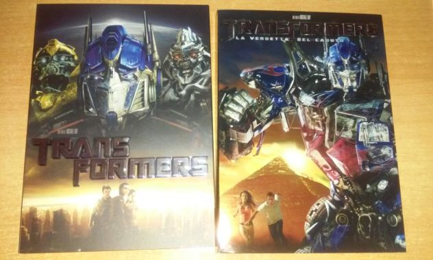 Transformers dvd film 1 e 2