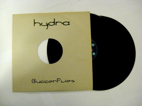 Doppio vinile 45 rpm promo-Hydra-Butterfly