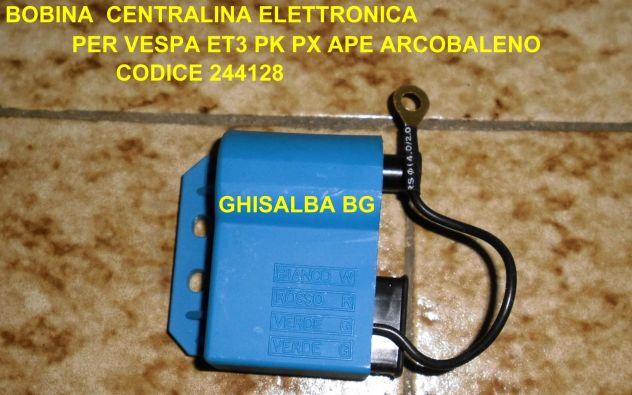 Bobina centralina elettronica per piaggio vespa et3 pk ape px