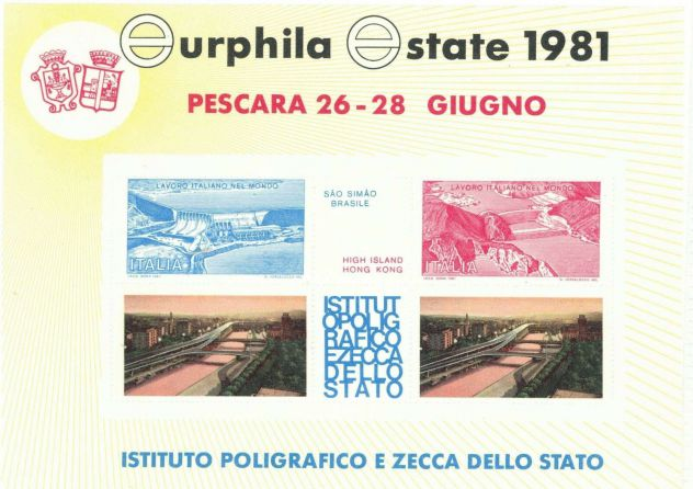 EURPHILA ESTATE 1981