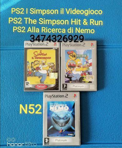 PS2 I Simpson il Videogioco