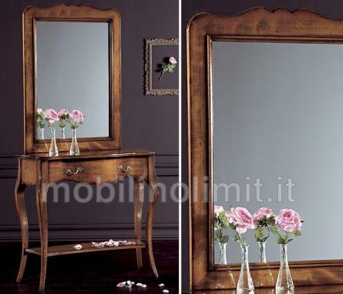 Specchiera con cornice (grezzo)