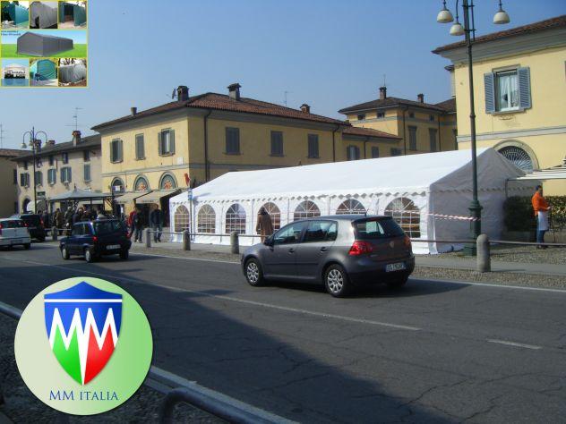 Tendoni Coperture in Pvc 7 x 15 Ignifugo 550 gr. mq. bulloni Passanti - Foto 5
