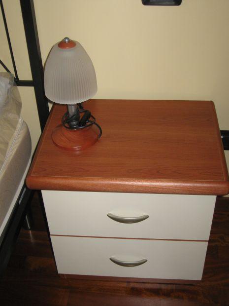 Due lampade da comodino
