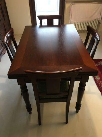 Offro tavolo allungabile in legno massiccio - Foto 3
