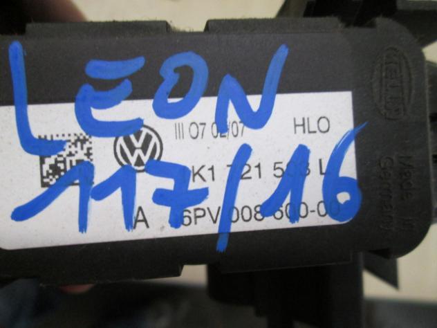 1K1721508L PEDALE ACCELERATORE SEAT LEON 1.6 B 5M 5P 75KW (2007) RICAMBO USATO - Foto 2