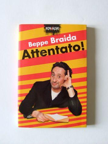 Beppe Braida - Attentato E libri satira