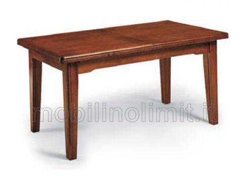 Tavolo arte povera con allunghe (180x85) - Nuovo