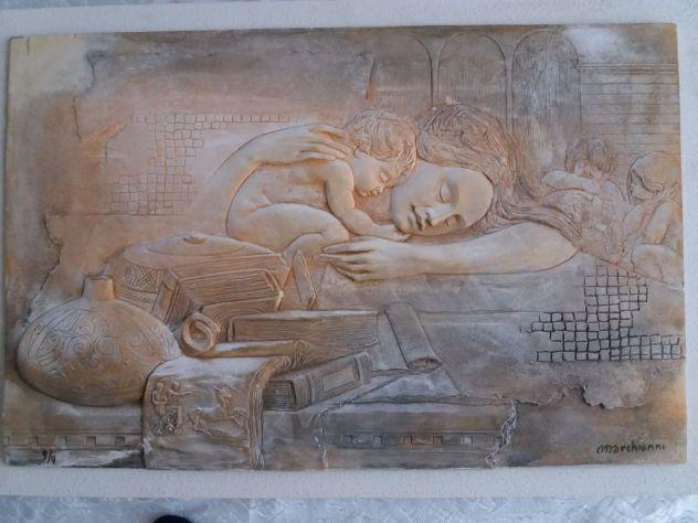 Elvio MARCHIONNI - Madonna con bambino
