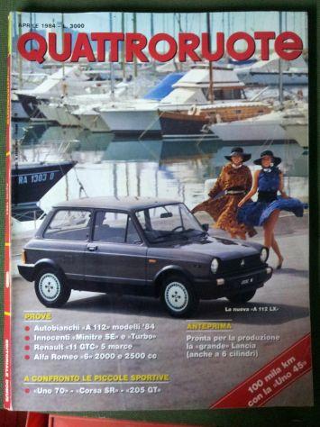 Riviste QuattroRuote 1980 - 81 - 82 - 83 - 84 - 86 - Foto 2