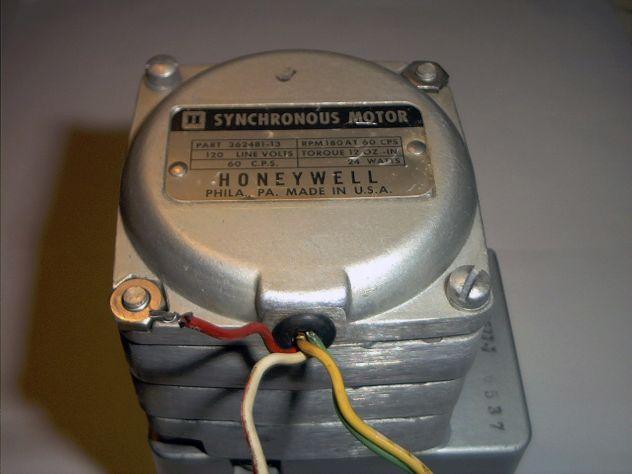 Motore elettrico, sincrono, da 75 RPM - Foto 4