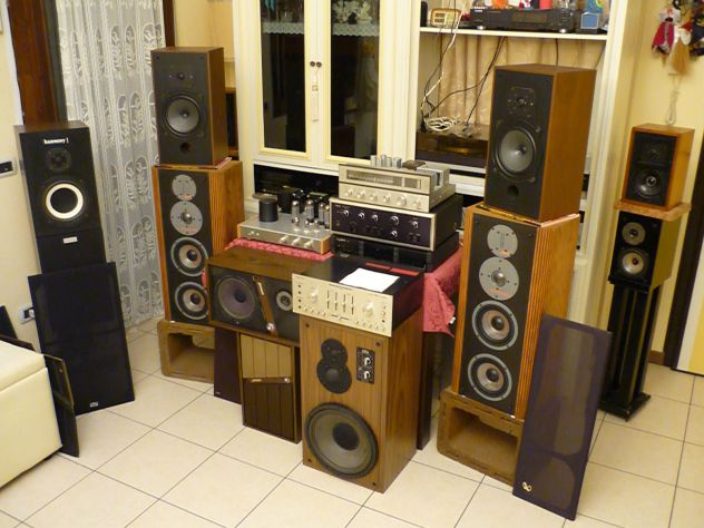 Materiale Audio Hifi Vintage, ecc..