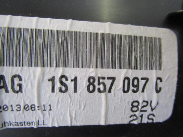 1S1857097C CASSETTO PORTAOGGETTI VOLKSWAGEN UP 1.0 B 5M 3P 44KW (2013) RICA … - Foto 2
