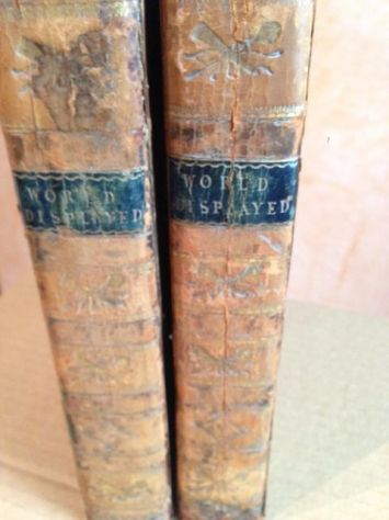 The World Displayed:Voyages and Travels,Vol V e IX Italia-Francia