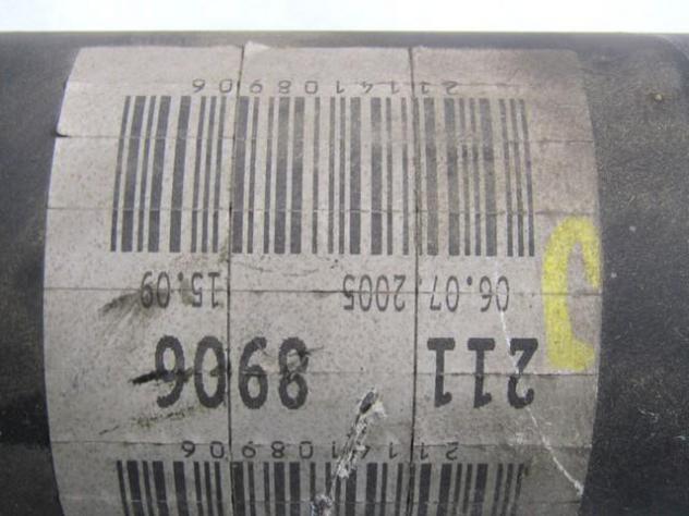 2114108906 ALBERO DI TRASMISSIONE MERCEDES CLASSE E 280 CDI W211 3.0 140KW  … - Foto 2
