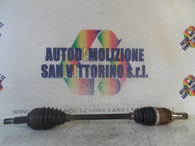 SEMIALBERO ANT. COMPL. SX. RENAULT CLIO 3A SERIE (07/0505/09)