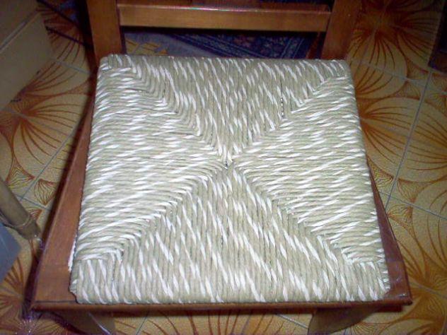 Impagliature sedie - Foto 3