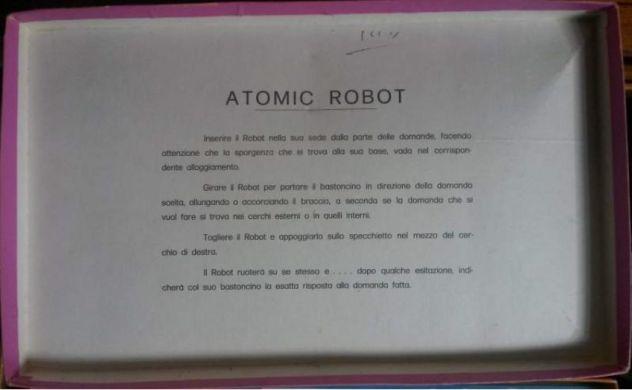 Gioco Vintage Atomic Robot Anni 70 Clementoni