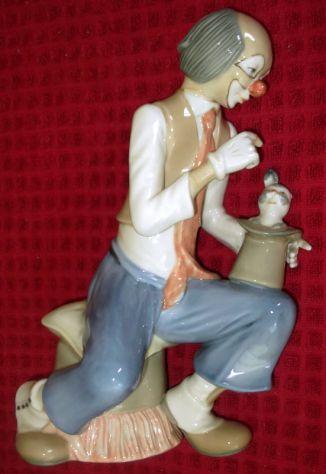 Clown in porcellana Tengra.