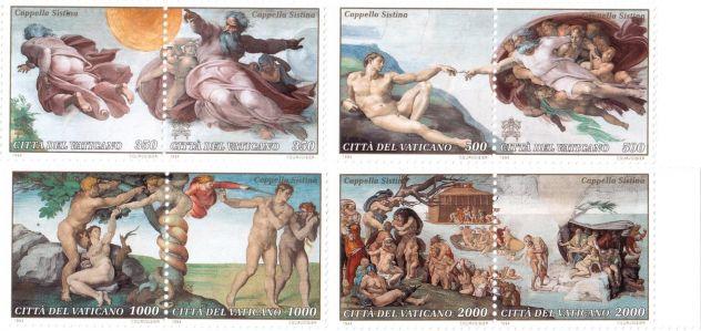 Francobolli nuovi annata 1994 Vaticano - Foto 3