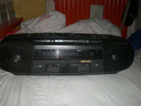 Vendo lettore per cassette radio