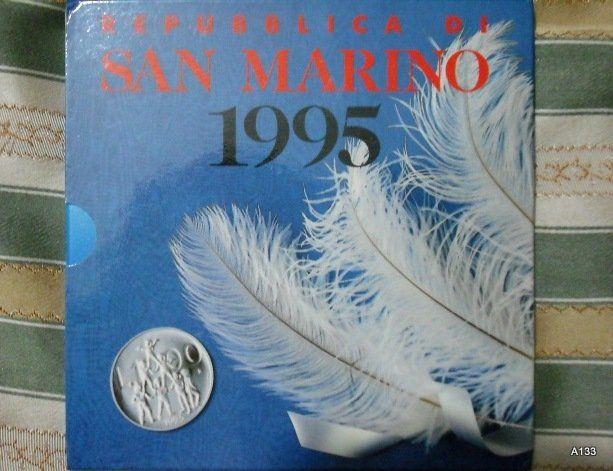Repubblica di San Marino millesimo 1995 (M14)