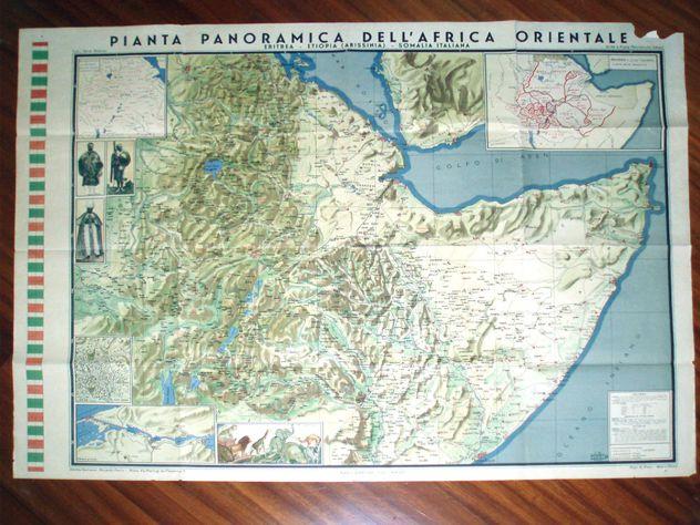 Carta Africa Orientale Italiana