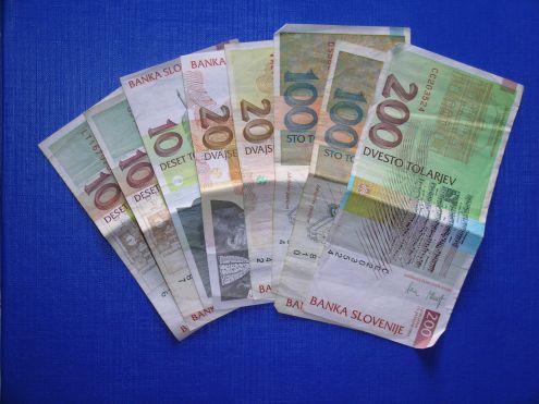 Banconote Slovenia pre Euro ( Talleri sloveni )