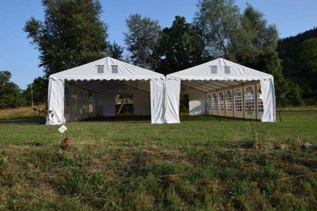 MM Italia Linea Mara Tendoni, Verande 5 x 6  Pvc uso Camping - Foto 2