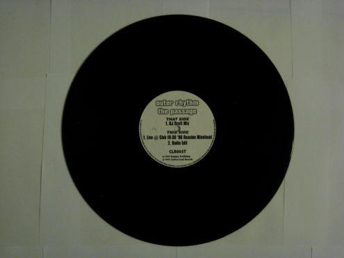 45 rmp (EP) originale del 1995 - Outer rhythm The Passage - Foto 2