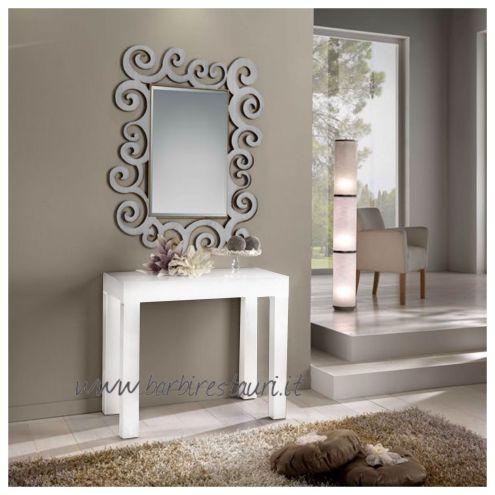 Tavolo Consolle Allungabile Bianco.Tavolo Allungabile Bianco Frassinato Nuovo Art 552 Annunci Roma