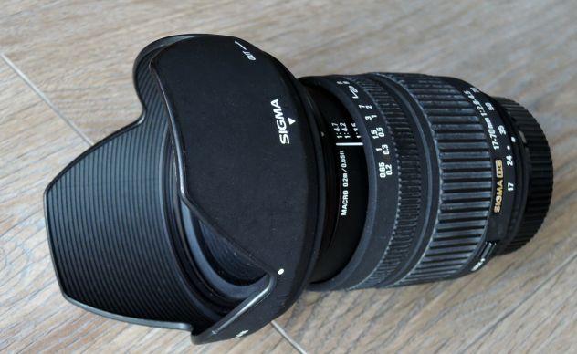 Obiettivo Sigma DC 17-70f2.8 attacco Nikon
