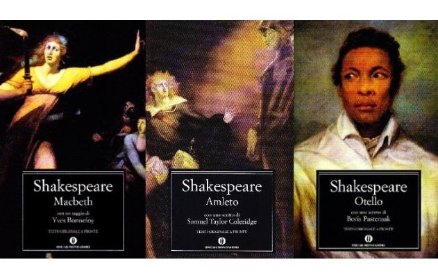 LIBRI di William Shakespeare (con testo originale a fronte)