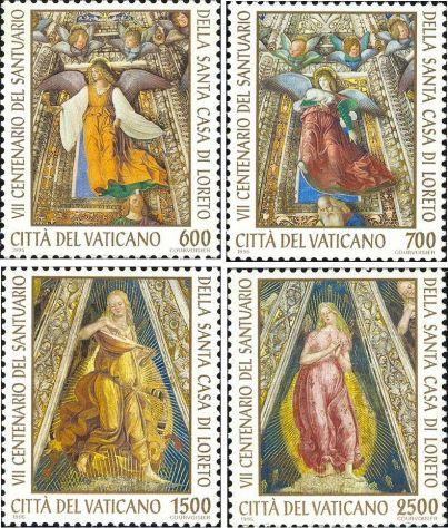 Francobolli nuovi annata 1995 Vaticano - Foto 5
