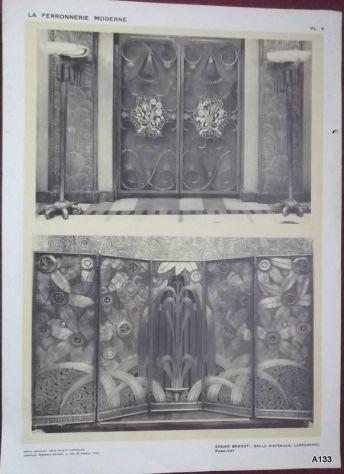 1925 CLOUZOT: LA FERRONNERIE MODERNE PORTFOLIO - Foto 4