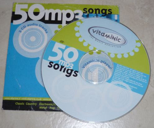 Vitaminic - 50 mp3 songs vol.1 CD originale - Foto 2