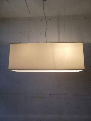 lampadario rettangolare in tessuto tutte le misure - Foto 5