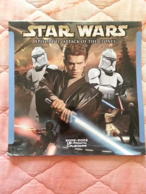 Calendario Star Wars Ep II