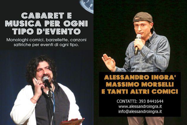 CABARET A MANTOVA CON IL DUO TOSCO EMILIANO ALESSANDRO INGRà E MASSIMO MORSELLI - Foto 3