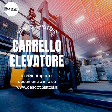 Corso di formazione e aggiornamento per conducente carrelli elevatori