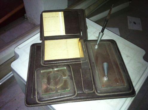 Accessori da scrivania anni 50