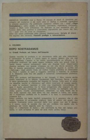 Dopo Nostradamus le Grandi Profezie sul Futuro Amadeus Voldben Ed:Meditarrenee - Foto 3