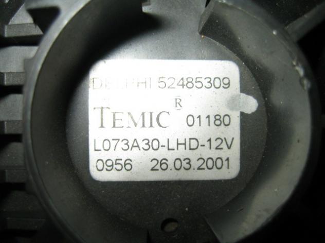 52485309 VENTOLA MOTORINO VENTILAZIONE ABITACOLO OPEL ASTRA 1.6 B 5M 85KW ( … - Foto 3