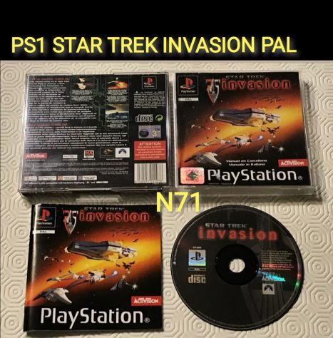 PS1 STAR TREK INVASION PAL