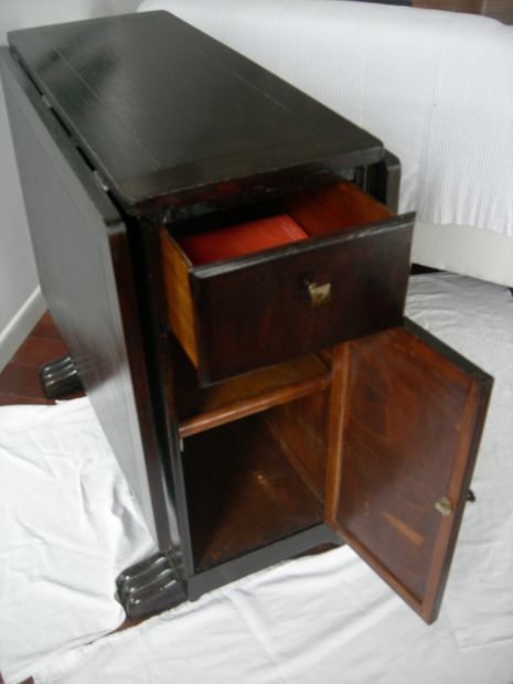 Tavolino con piano pieghevole francese - Torino - Foto 2