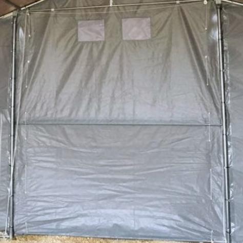 TENDONI STRUTTURE IN PVC PER USO STALLE BESTIAME 6 X 20 - Foto 2