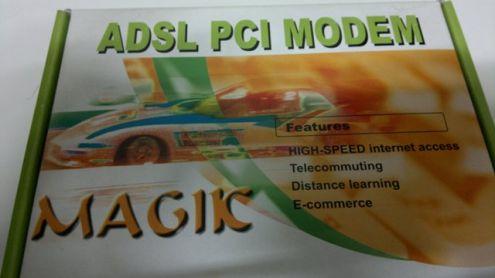 Scheda ADSL PCI MODEM marca MAGIC - nuova